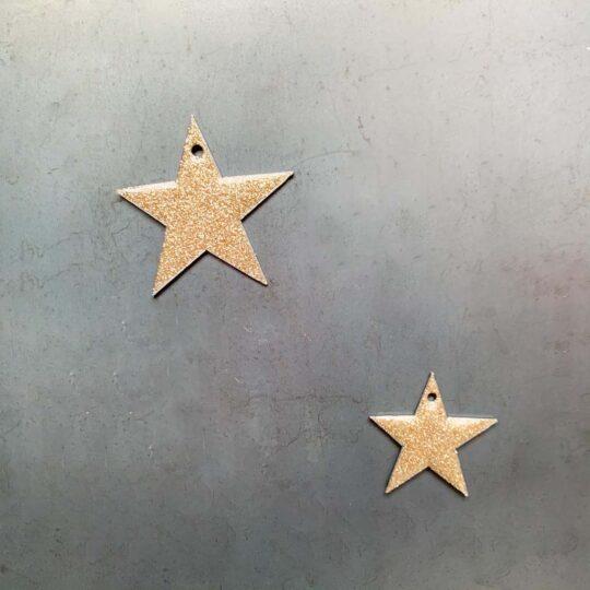 étoile émaillée