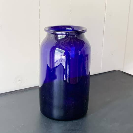 vase hongrois bleu