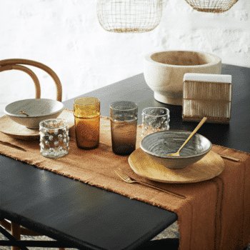 Set de table en coton stonewashed