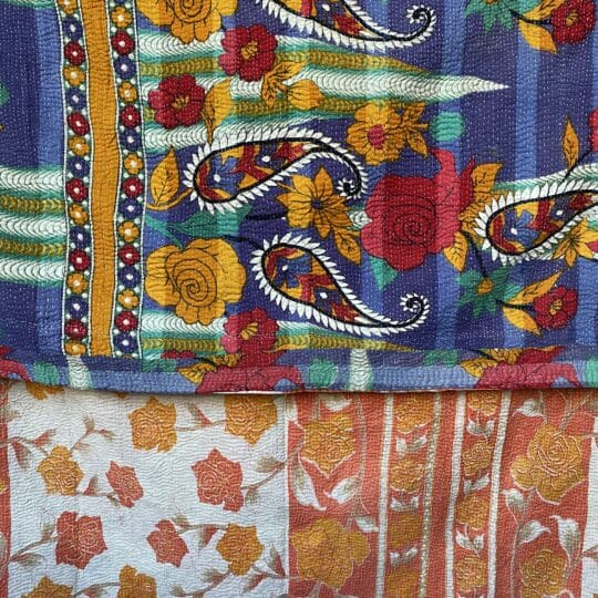kantha plaid vintage 10