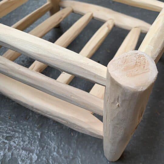 égouttoir en bois carré