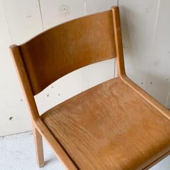 Chaise scandinave, la paire