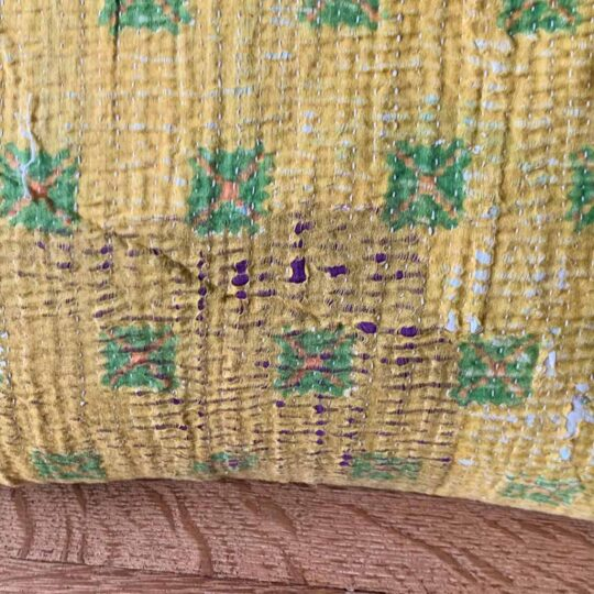 Coussin Kantha