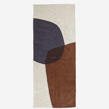Tapis long en coton