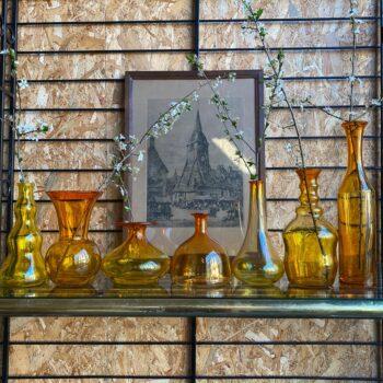 Vase et flacon hongrois vintage