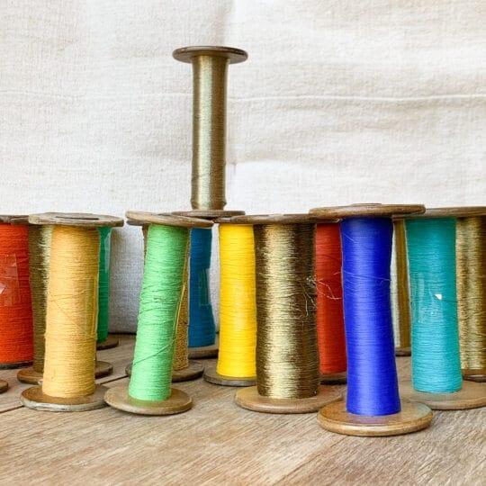 Bobine multicolore