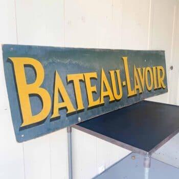 Enseigne Bateau-Lavoir