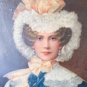 Portrait de femme, Waldmüller