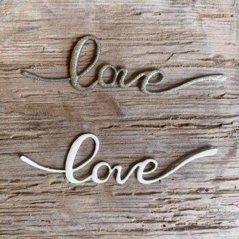 Mot love émaillé • CHEZ les VOISINS