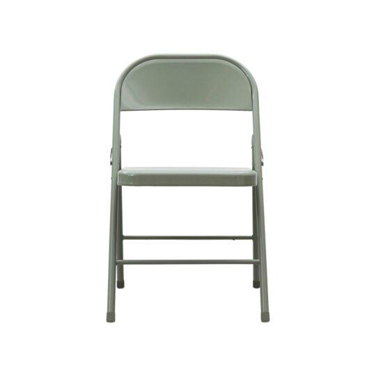 house doctor chaise pliante vert armé