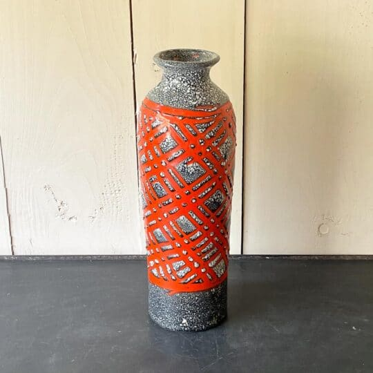 vase ceramique flammé europe de l'est vintage