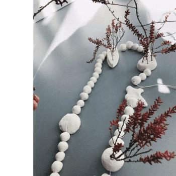 Collier de table en argile