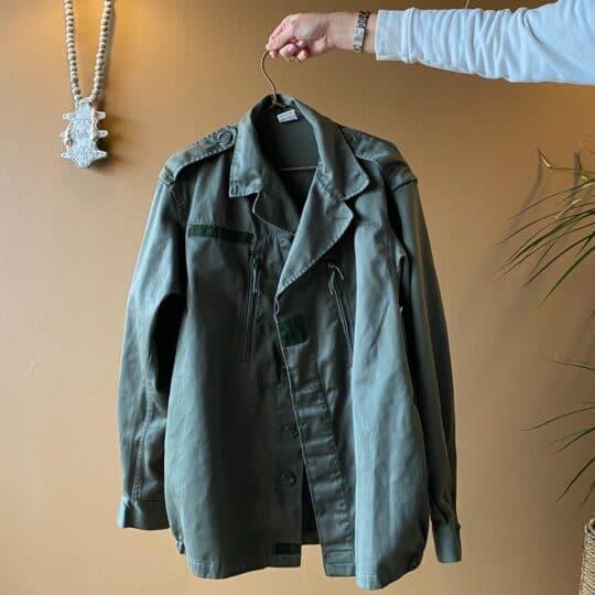 veste militaire vintage 5