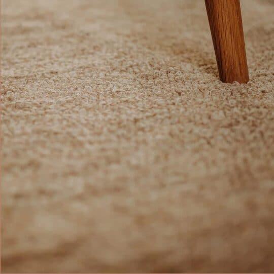 tapis en coton recyclé 200x300 beige