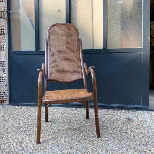 fauteuil pliant et cannage THONET acheté Emission Affaire Conclue