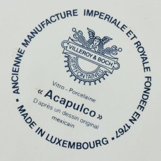 BROCANTE_ACAPULCO_VILLEROY_AND_BOCH_legumier