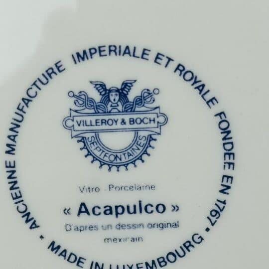 BROCANTE_ACAPULCO_VILLEROY_AND_BOCH_ASSIETTE_dessert
