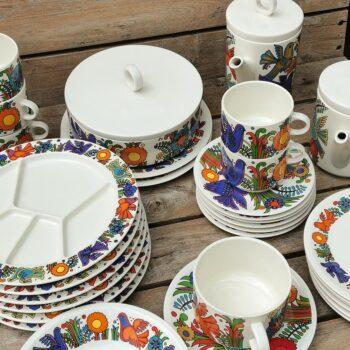 Tasse à thé et soucoupe Acapulco maison Villeroy et Boch • VINTAGE