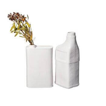 Joli vase bouteille en céramique